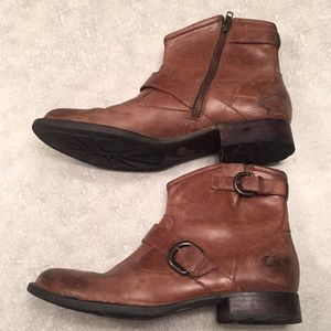 Leather Born Bootie. Size 10.5
